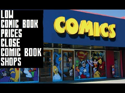 LOW COMIC BOOK PRICES CAUSE COMIC SHOPS TO CLOSE