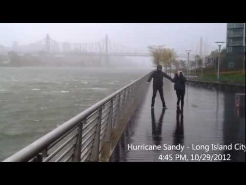 Hurricane Sandy - Long Island City, NY - View from Gantry Plaza State Park