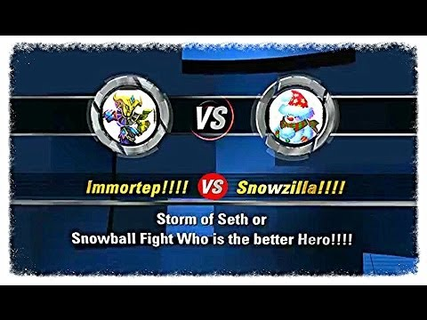 Who Is The Better Hero Immortep Or Snowzilla?