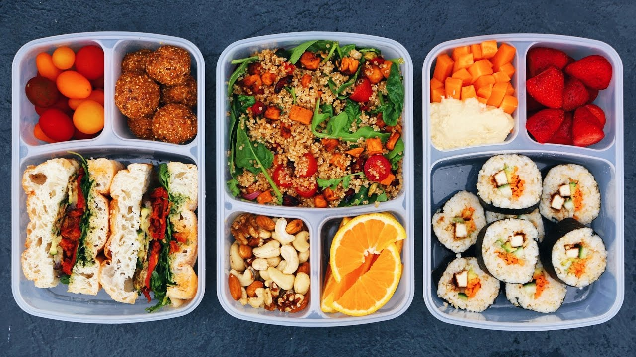 Vegan School Lunch Ideas 2 Healthy Easy Delicious