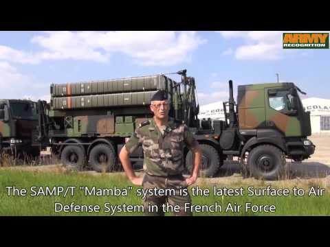 Aster 30 SAMP-T Mamba surface-to-air defense missile system France French Army Eurosam MBDA