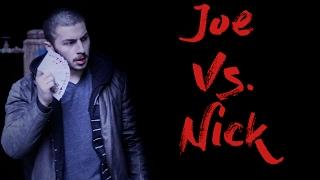 Card Throwing FIGHT - Joe Vs. Nick