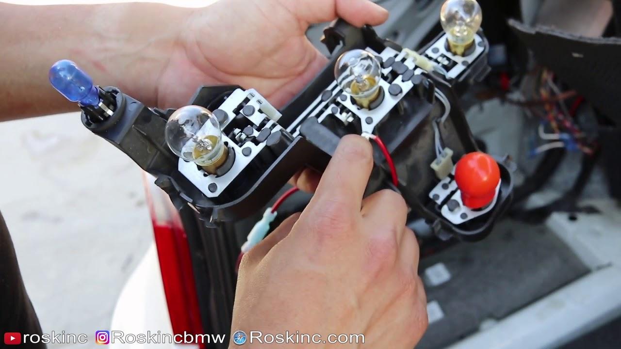 Fuse Diagram E60 Bmw Taillight Harness Plug Bad Ground Avoid Melting
