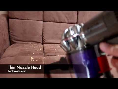 Dyson DC59 Cordless Vacuum Cleaner Unboxing and Testing