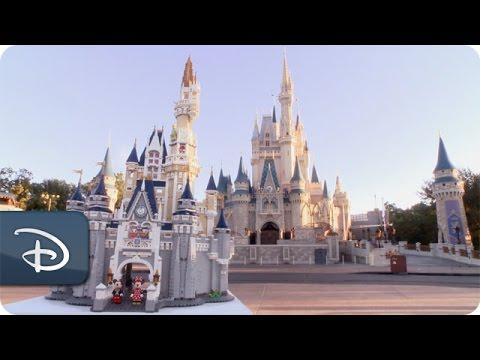 Disney Castle By the LEGO Group | Disney Parks