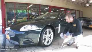 supercharged 2009 Jaguar XKR for sale with test drive, driving sounds, and walk through...