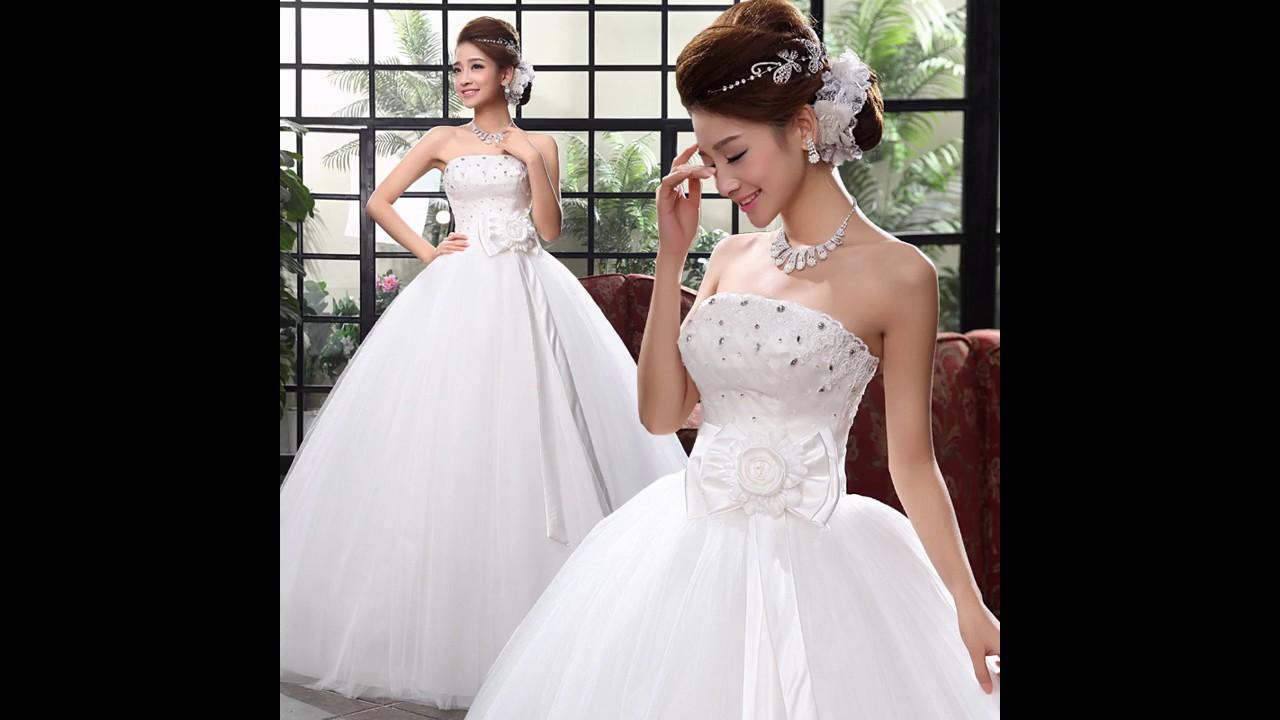 Los mejores Vestidos de novia anchos - YouTube