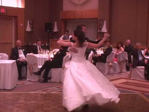 Dan & Becky's father-daughter dance - a waltz to Sunrise Sunset