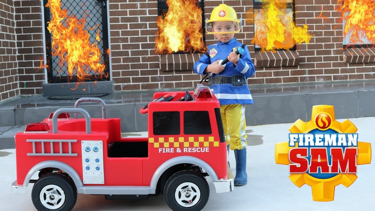 FIREMAN SAM Biggest Toy Collection Fun With CKN Toys