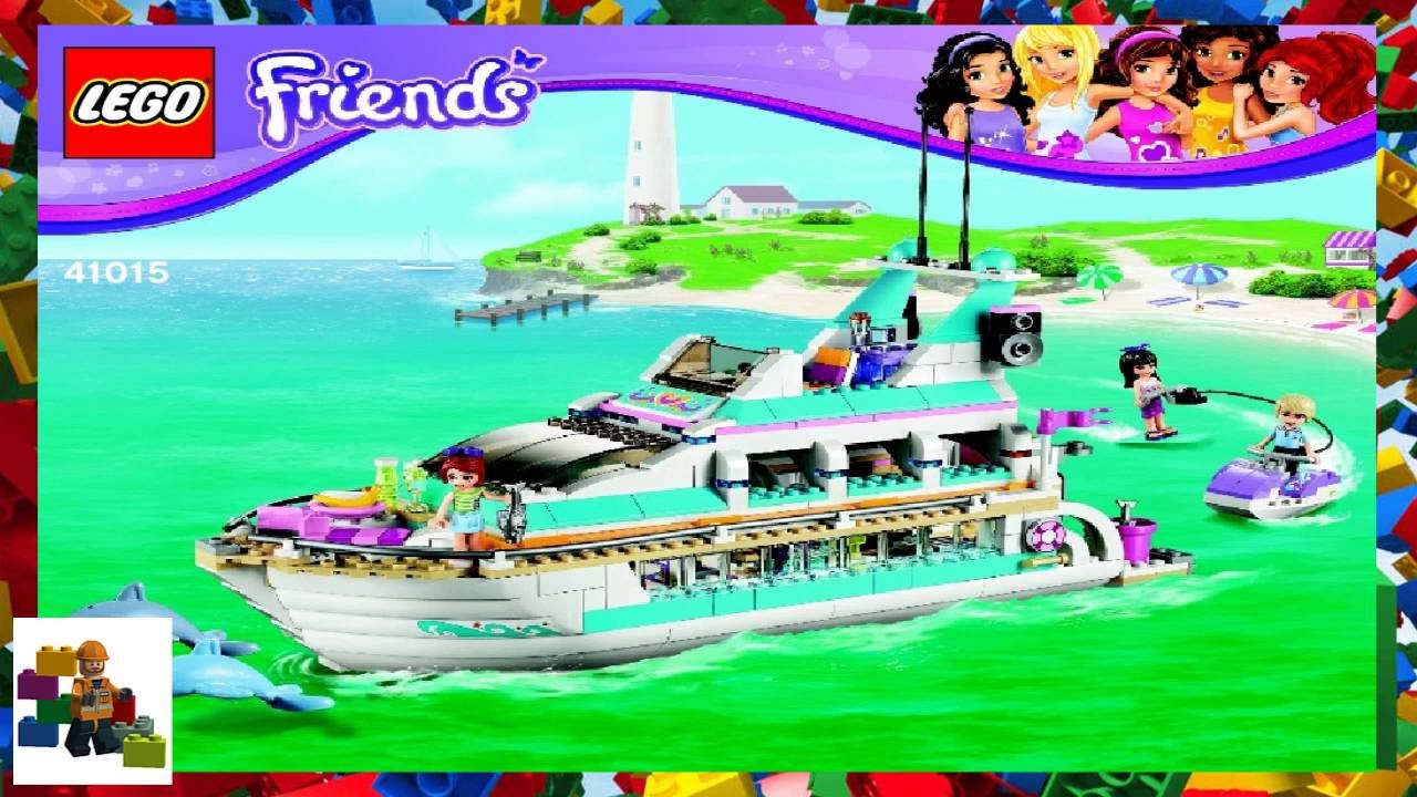 Lego Instructions Lego Friends 41015 Dolphin Cruiser Book 1