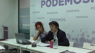 Presentación del VI Camina Podemos