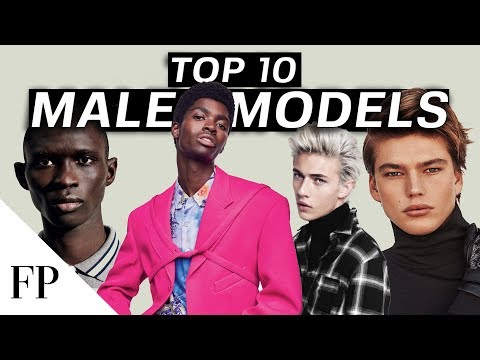 Top 10 MALE MODELS in 2020