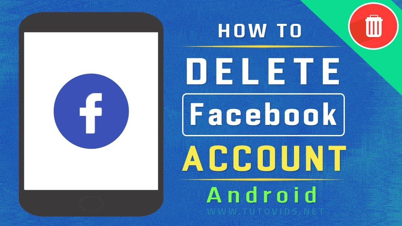How to delete facebook account on android easy way youtube how to delete facebook account on android easy way ccuart Gallery