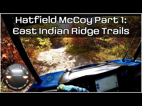 Hatfield McCoy Oct 2017 Part 1: East Indian Ridge Trails