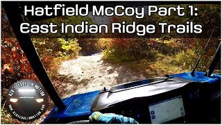 Hatfield McCoy Oct 2017 Part 1: East Indian Ridge Trails