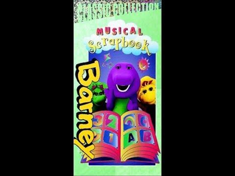 Barney's Musical Scrapbook (2000 Lyrick Studios VHS Rip)