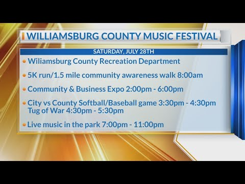 Williamsburg County Music Festival