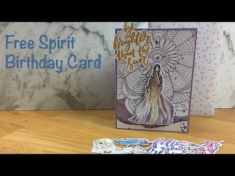 Free Spirit Birthday Card