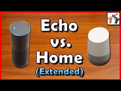 Amazon Echo Vs Google Home: Alexa v Google Voice Assistant Comparison - Extended
