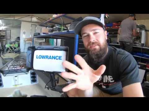 LOWRANCE Hook2 unboxing, install & water test