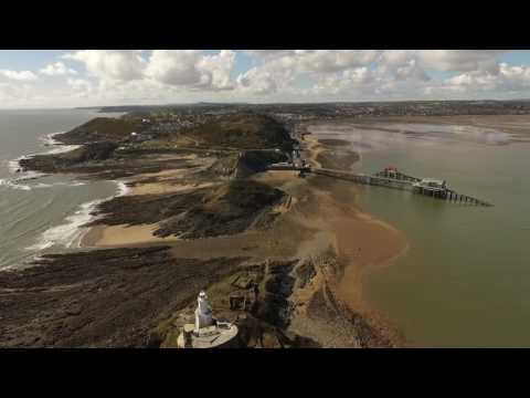 The Mumbles -  South Wales -  DJI Phantom - Escape to the Country