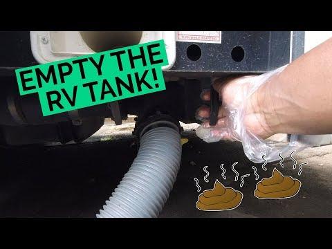 Cruise America RV Bonus Clip: Empty The Tank!