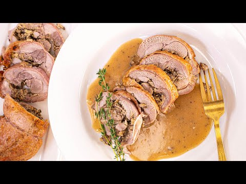 How To Make Turkey Roulade By Chef Josh Capon