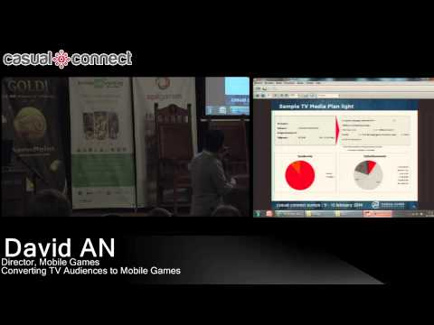 Converting TV Audiences to Mobile Gamers | David AN
