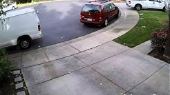 Amazon/Ontrac delivery van hits my minivan twice, then delivers package