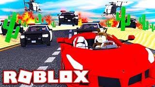 POLIZEI CAR CHASE IN ROBLOX! (ROBLOX VEHICLE SIMULATOR)