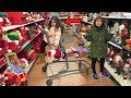 Kids Pretend play Shopping for Christmas Toys and Surprise!! funny video