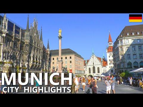 MUNICH │ GERMANY.  One day in beautiful Munich Old Town. HD.