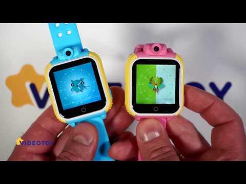 Легкий рецепт Детские GPS часы с камерой Smart Baby Watch Q75 GW1000 - видео обзор - GPS трекер для детей tracker