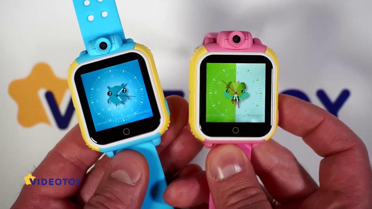Детские умные часы Smart Baby Watch купить - YouTube