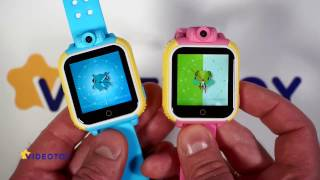 Детские GPS часы с камерой Smart Baby Watch Q75 GW1000 - видео обзор - GPS трекер для детей tracker(, 2016-11-30T14:35:36.000Z)