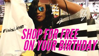 How to Eat for Free Everyday for Week for your Birthday! Eating & Shopping with no money!