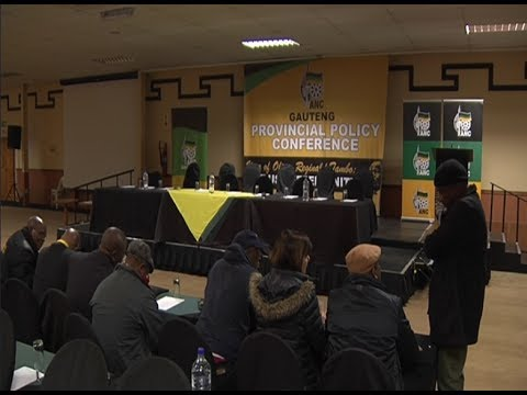 Gwede Mantashe addresses the ANC Gauteng policy conference