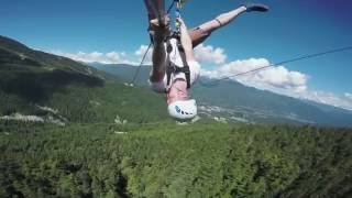 The Sasquatch™ Official Video - Longest zipline in Canada and the USA!