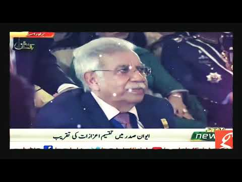 #Sadruddin_Hashwani Sb, Chairman Hashoo Group awarded Nishan-e-Imtiaz by President of Pakistan