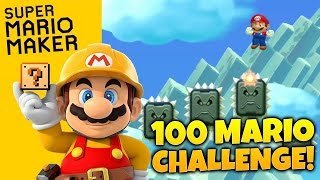 Super Mario Maker Gameplay - 100 Mario Challenge - THIS ISN