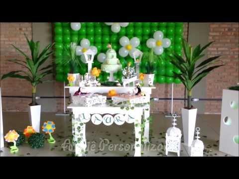 Decoração de festa infantil Tinker Bell (Sininho) Provençal