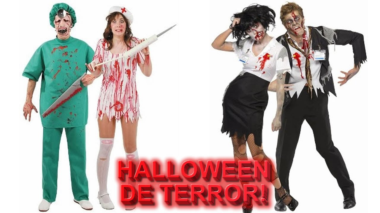 Disfraces de Terror en Halloween Disfraz de Horror YouTube