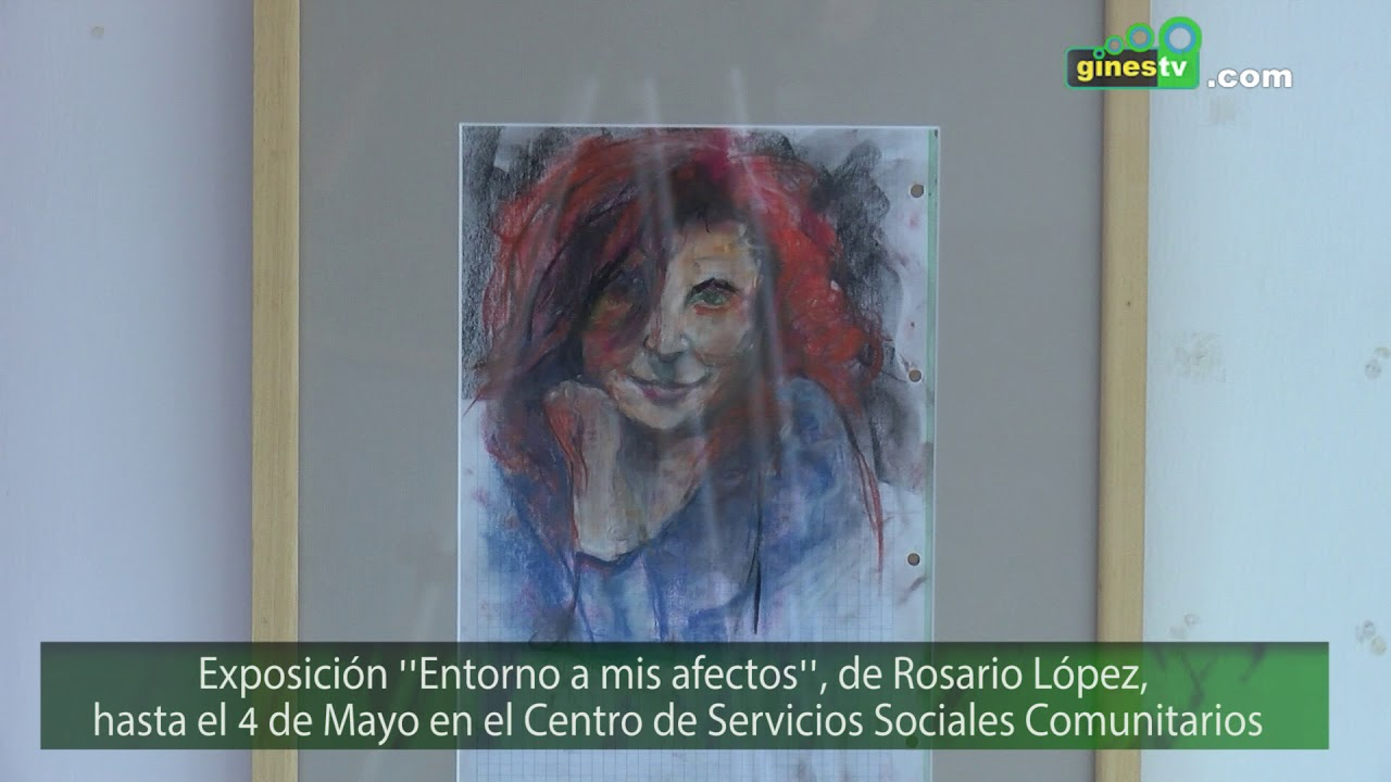 """Abre sus puertas la exposición pictórica """"En torno a mis afectos"""", de Rosario López"""