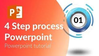 animated 4 step process. Powerpoint tricks