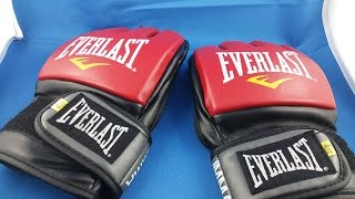 Everlast boxing gloves MMA from AliExpress.com Unboxing haul