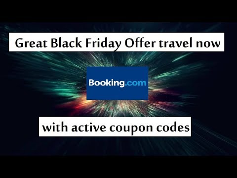 Booking Black Friday Sale 2018