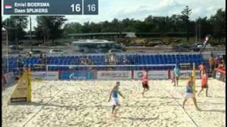 Benes P.-Kubala CZE Boersma E.-Spijkers NED 2-0 (21-16, 24-22) Pool K Moscow Grand Slam 2011