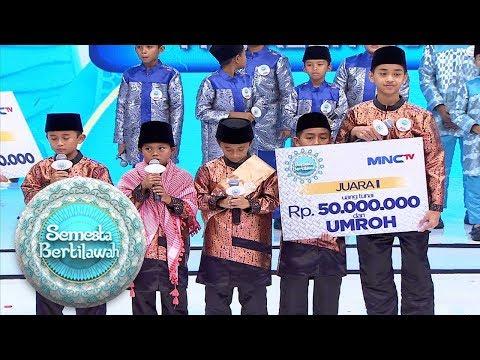 SELAMAT, Ponpes Azzakiyatussholihah Majalengka Keluar Sebagai Juara 1 - Semesta Bertilawah FINAL