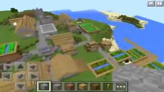 NEW DIAMOND SEED!!! - Minecraft Pocket Edition Seed Review
