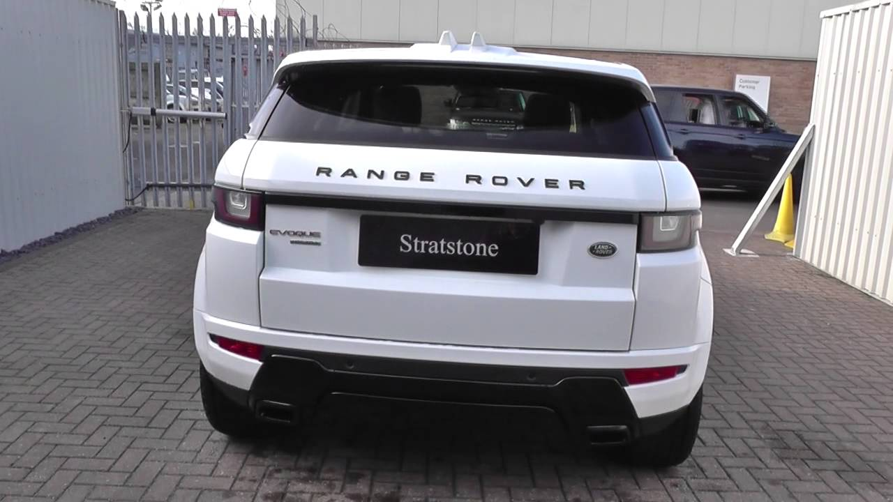 land rover range rover evoque 2 0 td4 hse dynamic lux 5dr auto u10815 youtube. Black Bedroom Furniture Sets. Home Design Ideas